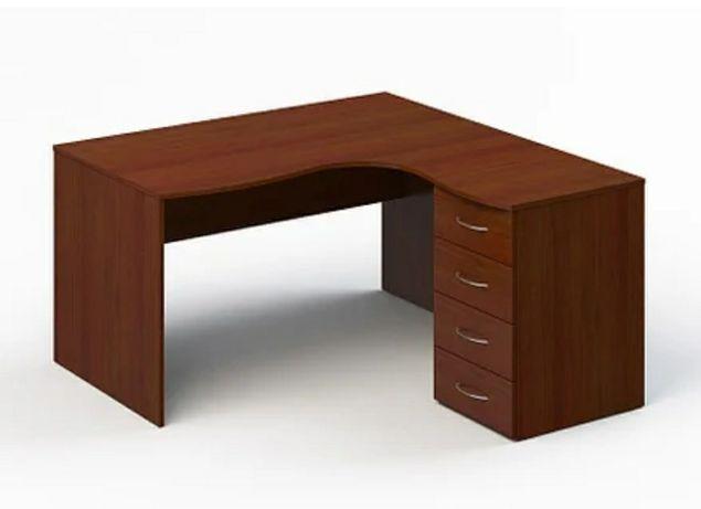 Угловой стол в офис школьный