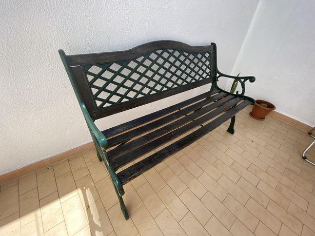 Banco para jardim ou terraço