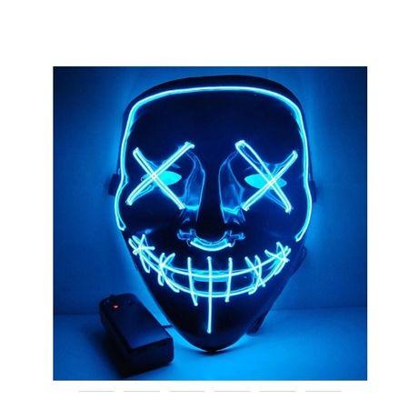 Maska LED Świecąca HIT Karnawał 2020 Koncert