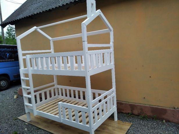 Łóżko piętrowe domek 80x180.