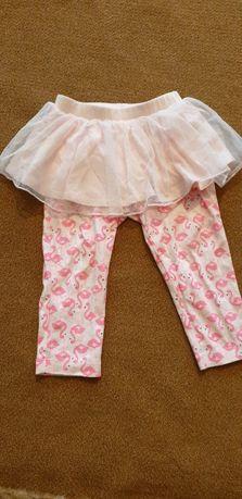 штаны-юбка фламинго 18 мес.
