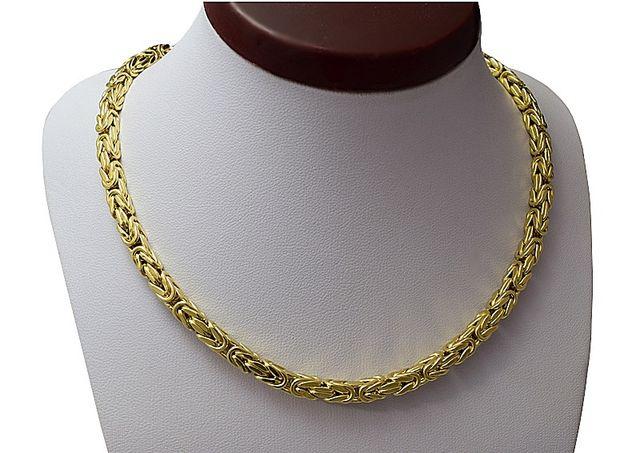 Łańcuch , Łańcuszek Złoty Splot Królewski / Złoto pr. 585