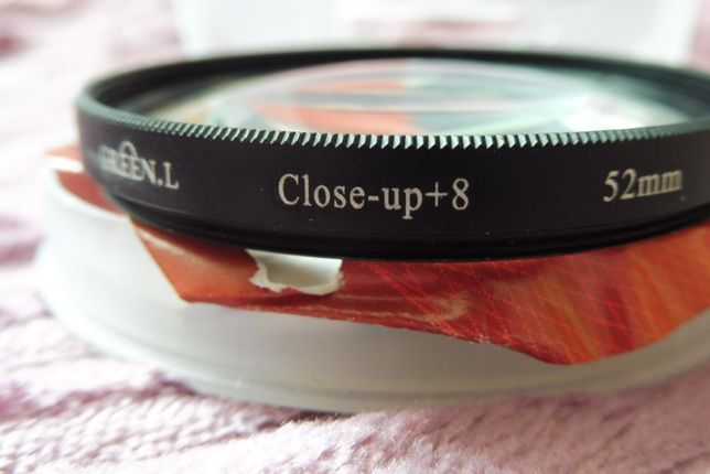 Filtr close up 52mm x8