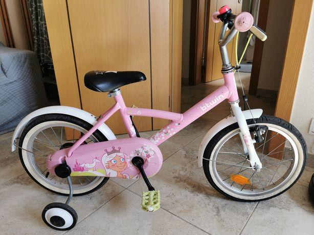 Bicicleta B-Twin menina roda 16'