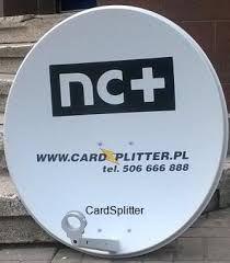 Antena satelitarna NC+ oryginalna BIAŁA CZASZA 70