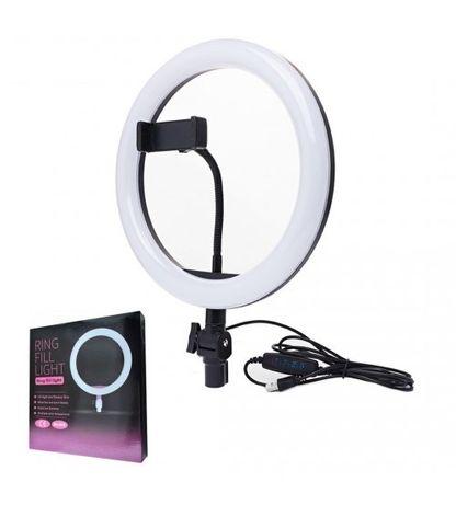Кольцевая Светодиодное кольцо LED лампа 26см блогера Ring Fill Light