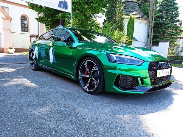 AUDI RS5 DO ŚLUBU - NOWE RS5 520HP Green - Terminy 2021/AUTO DO ŚLUBU