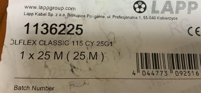 Kabel lapp ölflex classic 115 CY 25G1 25metrów