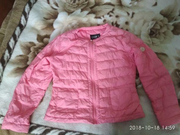 Осіння курточка яскравого кольору хl