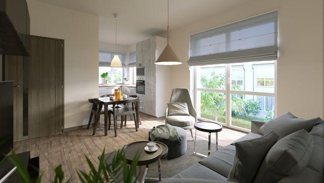 Invest Complex nowoczesne mieszkanie z ogrodem 47.96m2