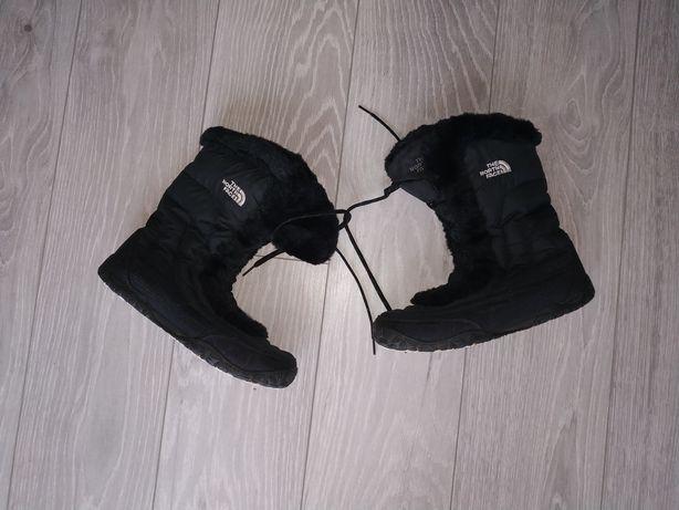 Жіночі чобітки на гусячому пуху The North Face Розмір 41 / 27см чоботи