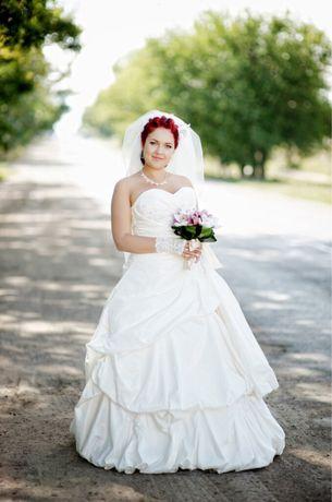 Счастливое саадебное платье
