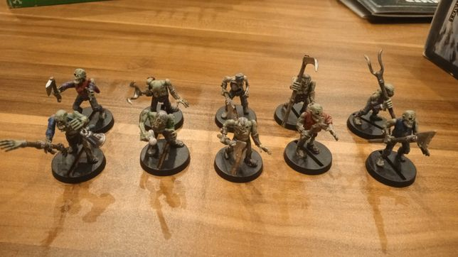 Zombies Zombi X10 Warhammer Fantasy  Age of Siegmar WH40K Death Guard