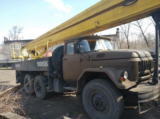 Продам автовышку ВС-22 на ЗИЛ-131 вездеход газ-бензин
