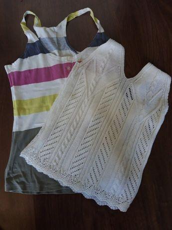 2 bluzeczki jedna nowa druga używana