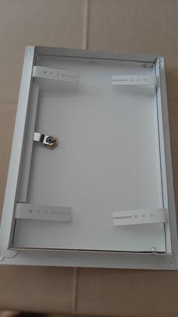 Drzwiczki do licznika z kluczykiem