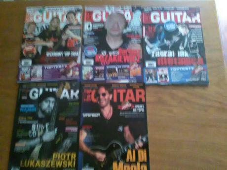 Czasopismo Gitarzysta, Guitar 29szt