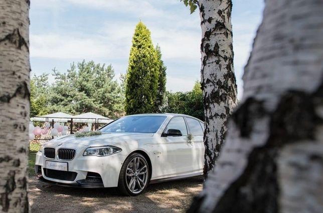 BMW M550d do ślubu + bus 8 osobowy