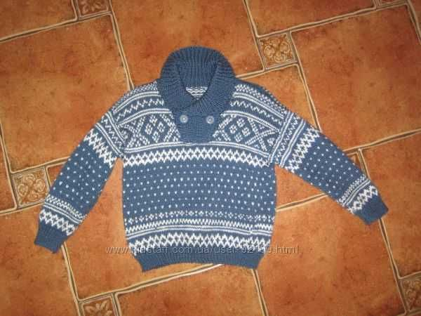 Шикарный свитер индивидуальной вязки. Шерсть Харьков - изображение 1