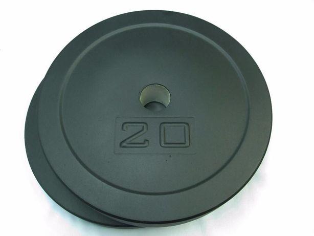 Блины для штанги 2 шт по 20 кг под гриф 25, 30 50 мм. Производитель.