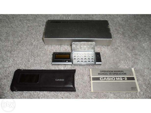 Micro-Computador/Calculadora Casio MQ-2Quartz (Relíquia 80's)