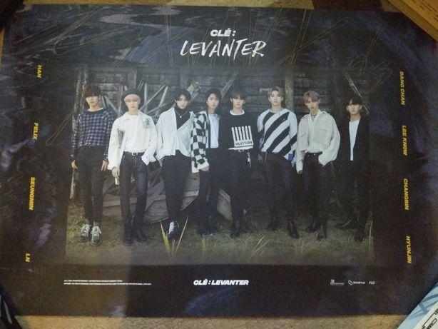 Постер Stray kids - Levanter (версия Double Knot), официальный плакат