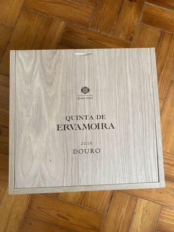 Caixas Vinho madeira