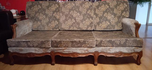 Sofa antyk + fotel antyk