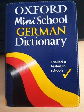 Oxford mini słowniczek ang- niemiecki i niem- angielski