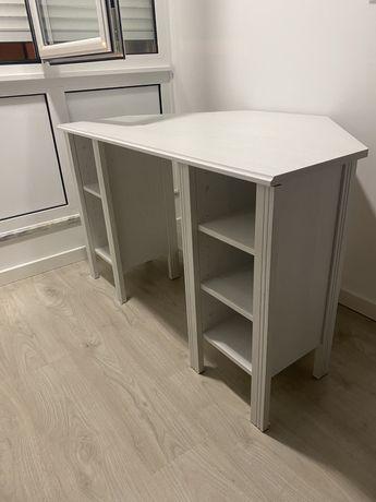 Secretária Ikea branca 120*73cm