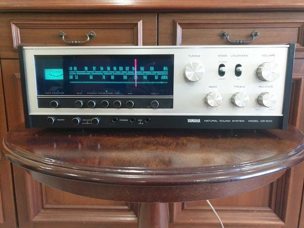 Amplituner Yamaha Cr 500 doskonala Rewelacyjny Dzwiek Vintage
