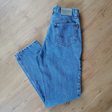 Wystrzałowe mom jeansy H. I. S. , wysoki stan, rozmiar 40/L