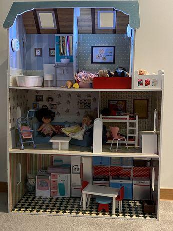 Casa de bonecas Amanda & Family Imaginarium