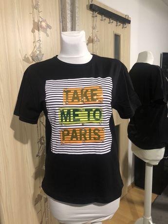 Koszulka t-shirt modny nadruk