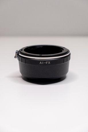 Перехідник AI - FX. Nikon - Fujifilm