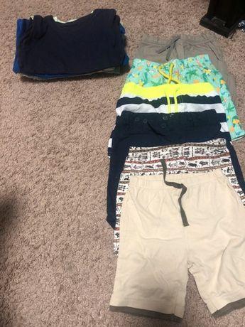 ubranka na lato spodenki koszulki