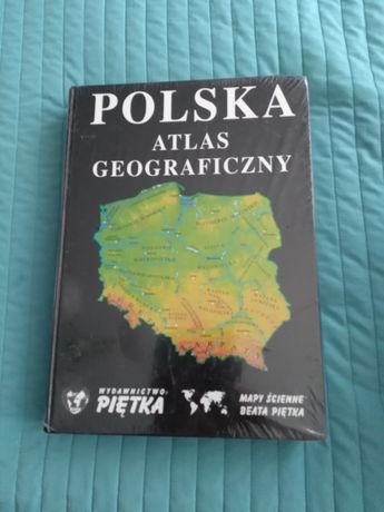 Atlas geograficzny-Polska.