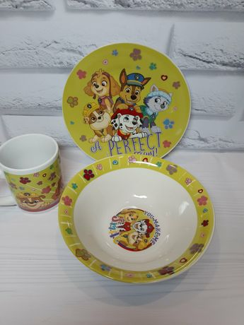 Набор детской керамической посуды керамическая посуда для детей