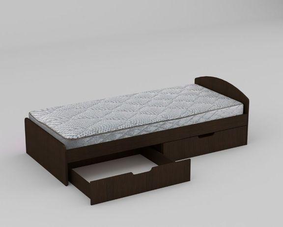 Детская Кровать 90+2 Односпальная! Ящики в Комплекте!