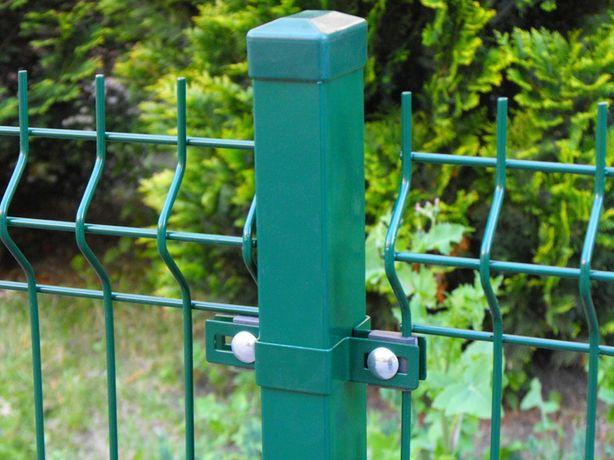 Trwały panel ogrodzeniowy ocynk + lakier h=1,5m, ogrodzenie panelowe