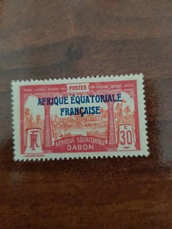 Selo África Equatorial Francesa Gabão