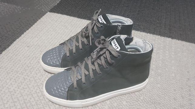 Sneakersy Esprit, za kostke, roz 35, wkł 23cm.