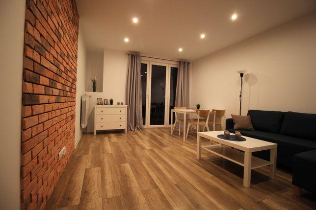 Nowoczesne mieszkanie 49 m2, parter, loggia