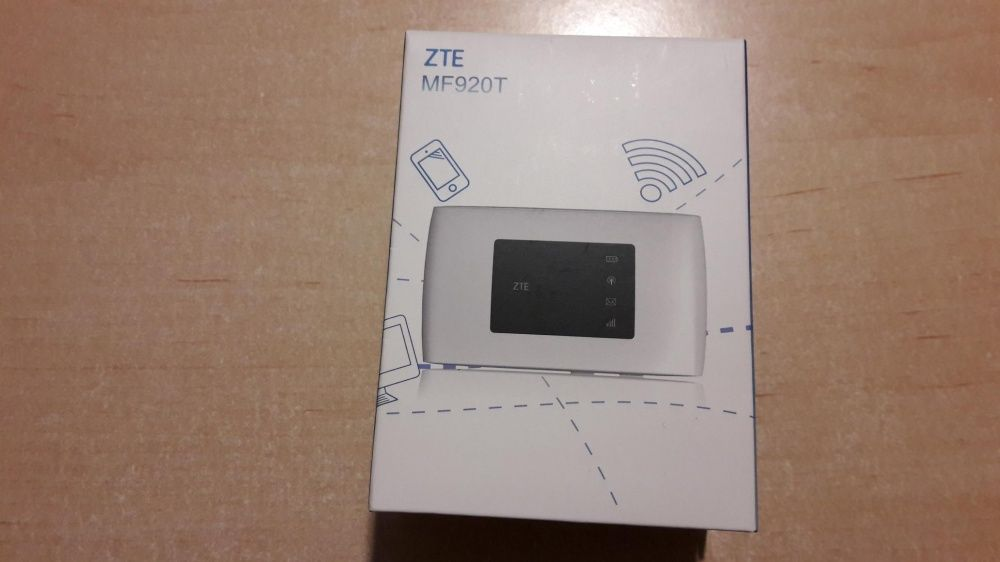 Mobilny Router ZTE MF920T Biały LTE Cat.4 Nowy. Nietulisko Duże - image 1