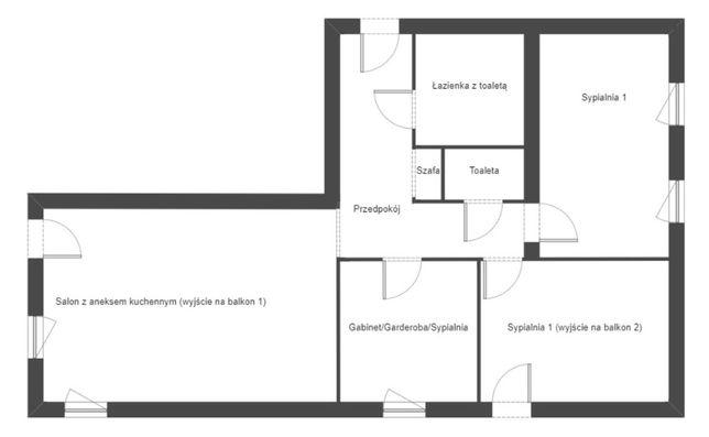 Widokowe, urządzone mieszkanie, 4 pokoje, piwnica, garaż! Podgórze!