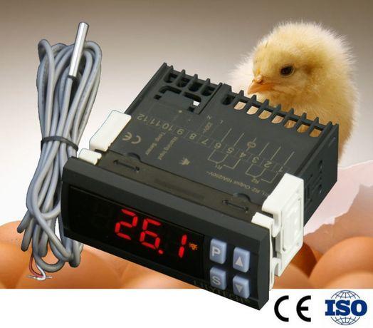 Termostato + Temporizador, 220V, chocadeiras, ajuste 0.1º