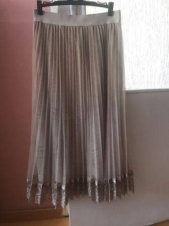 Spodnica Reserved plisowana tiulowa S