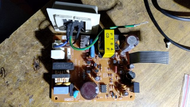 блок питания принтера epson color 600
