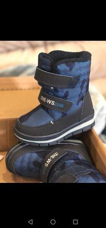 Зимние ботинки 22 размер 14 см стелька