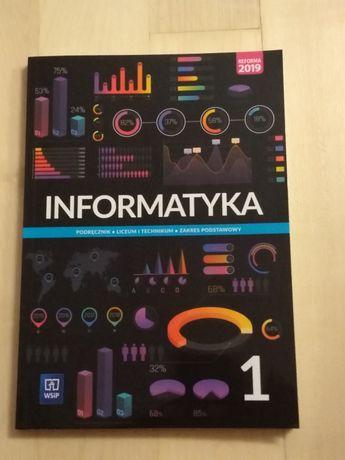 Sprzedam podręcznik do informatyki dla klasy 1 po 8 klasie.